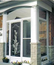 Wrought Iron Fiberglass Doors